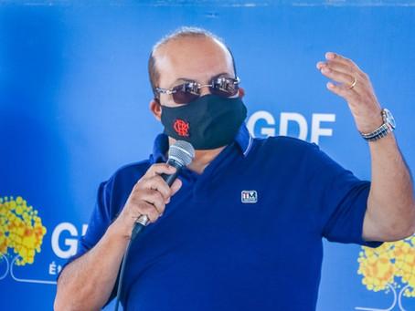 Governador Ibaneis Rocha é diagnosticado com Covid-19
