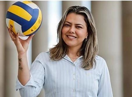 Leila do Vôlei é a primeira Senadora mulher do DF