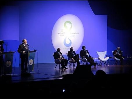Brasília no centro das discussões sobre água