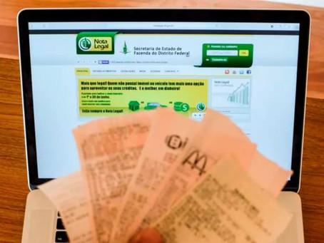 Nota Legal: inscrição até amanhã (31) para participar de sorteio