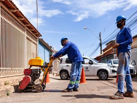 Obras avançam para evitar perda de água potável