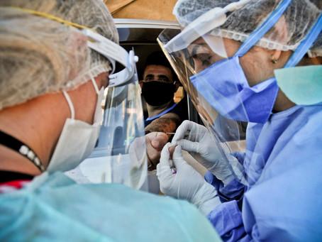 DF registra 1740 casos de covid-19, informa boletim