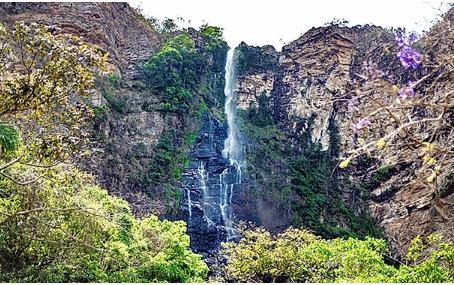 Cachoeira do Label: a maior da Chapada dos Veadeiros