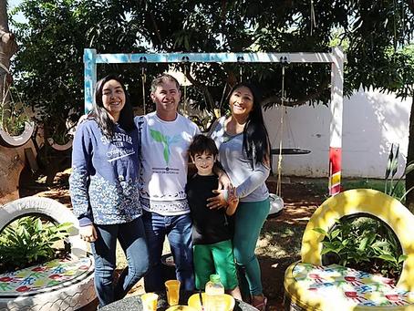 Família dá show de sustentabilidade em condomínio do Grande Colorado