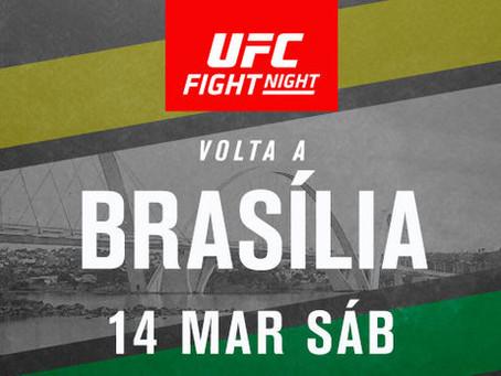 UFC desembarca em Brasília em março