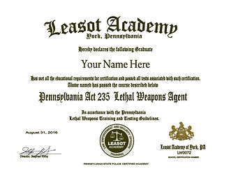 Image result for act 235 certificate