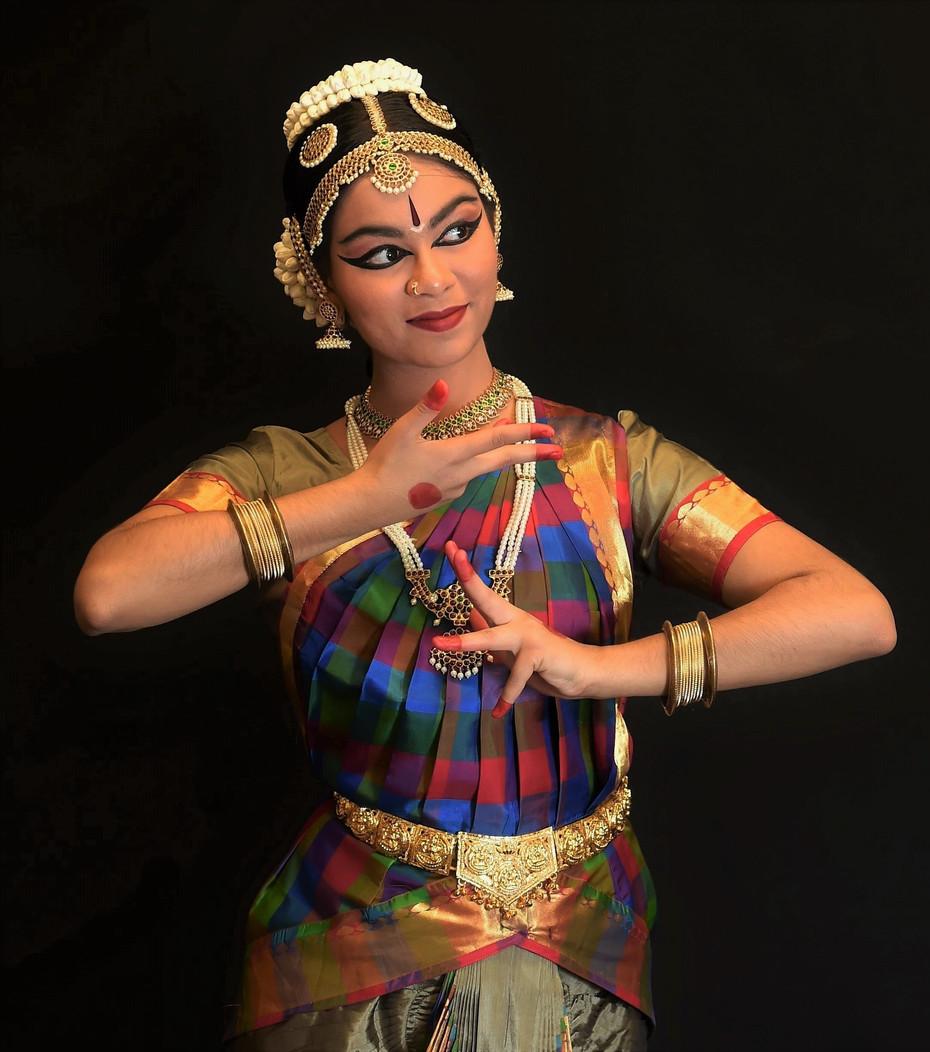 Arangetram photoshoot Ishika Muchhal