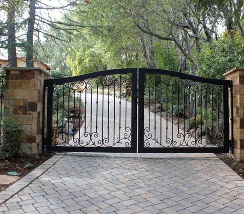 Metal Gate Irias Ironworks