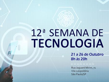 12ª Semana de Tecnologia - SENAI/SP