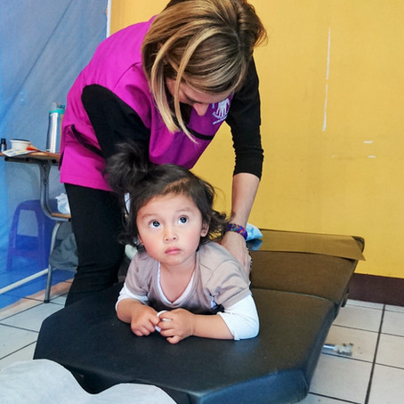 Adjusting spines and touching hearts: A closer look at Dr. Hilary Taglio