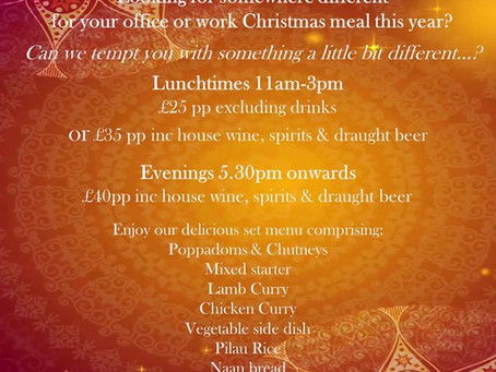 Office Parties at Spice Fusion