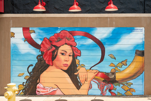 Blind Ox commissioned mural