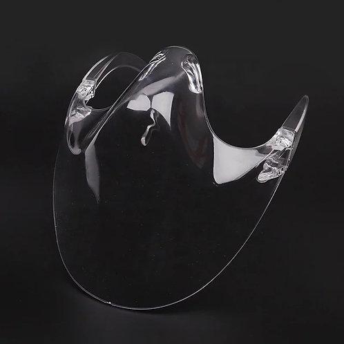 Transparent Acrylic Face Masque