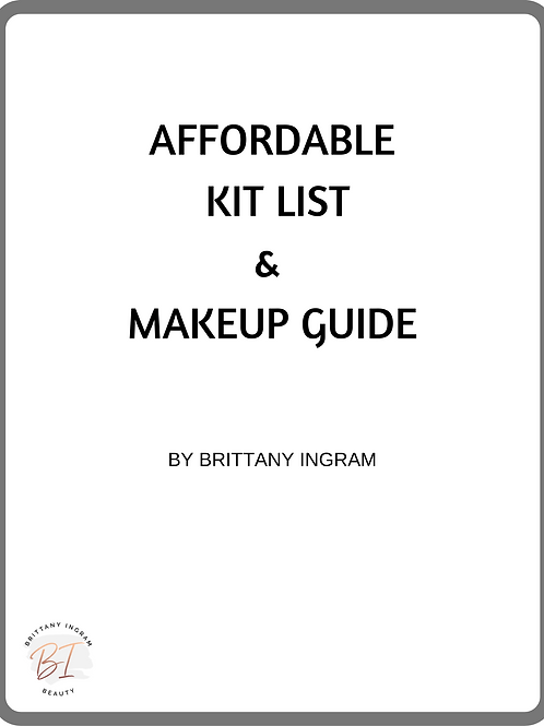 Affordable Tool & Kit List E-Book