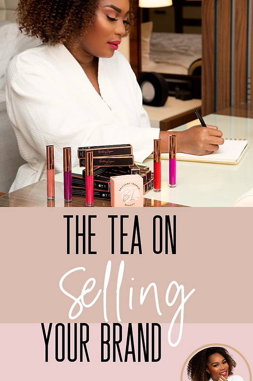 The Tea on Selling Your Brand E-Book