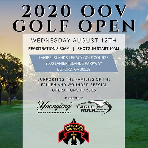 2020 Golf Open - Foursome