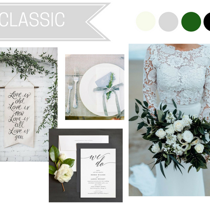 TRENDING: CLASSIC WEDDINGS