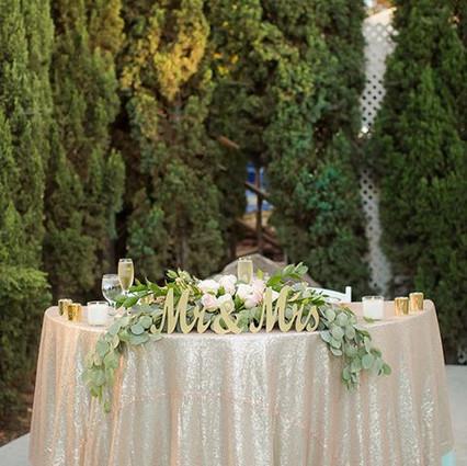 Head Table or Sweetheart Table?