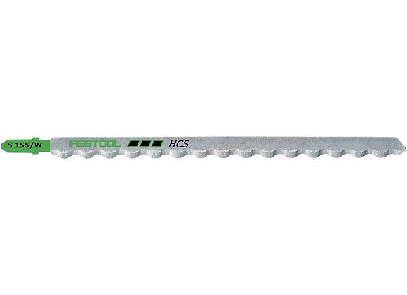 Festool S155/W Foam-Cutting Jigsaw Blades, 6 Inch, 3-Pack