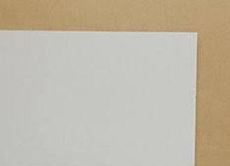 1/2x4x8 WHITE MELAMINE 2F