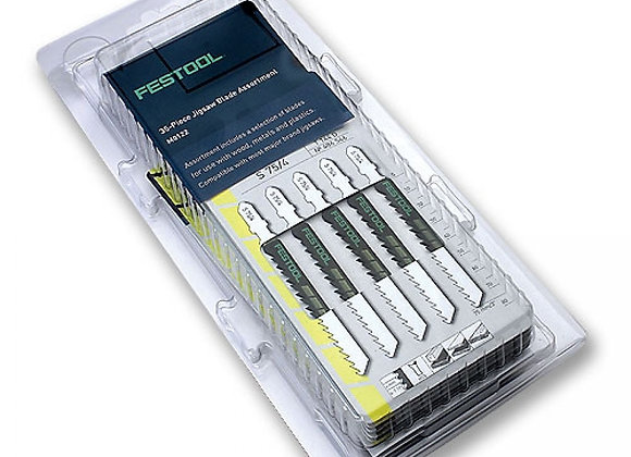 Festool Jigsaw Blade 35-Pack Assortment