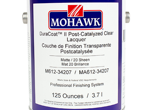DuraCoat™ II Post-Catalyzed Clear Lacquer