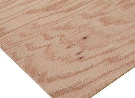 1/4x4x8 IMP. RED OAK MDF/CORE 2S