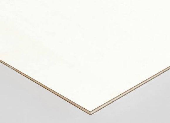 1/4x4x8 WHITE VINYL (MELAMINE) 1F