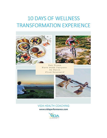 10 Days of Wellness Transformation Exper
