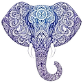 Blue Elephant Head.png