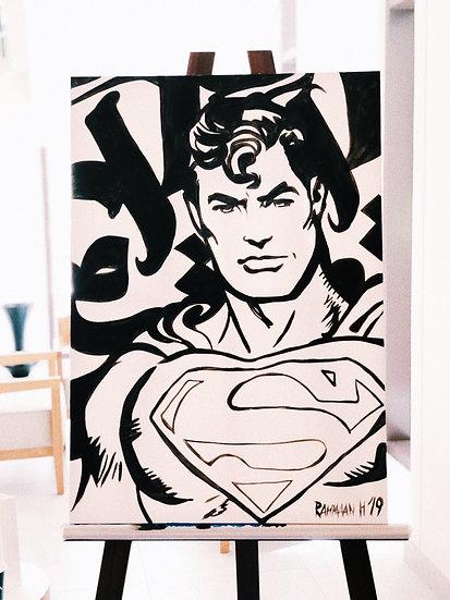 Calligraffiti Superman