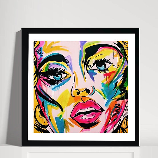 GIRL IN COLOUR V.III PRINT
