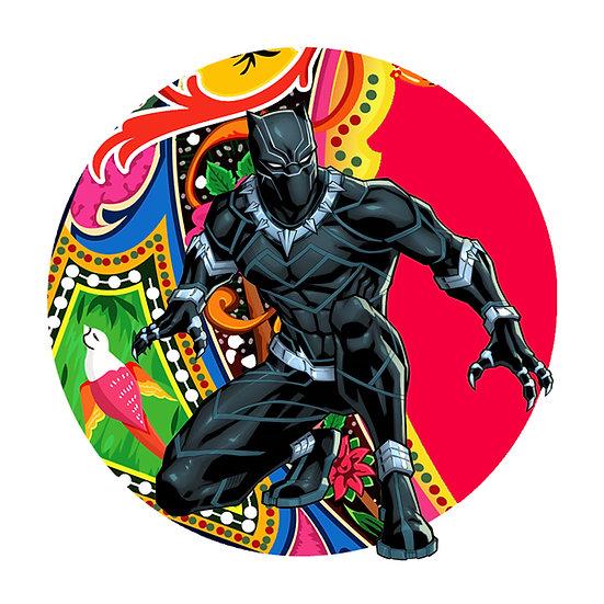 Black Panther Heritage Print