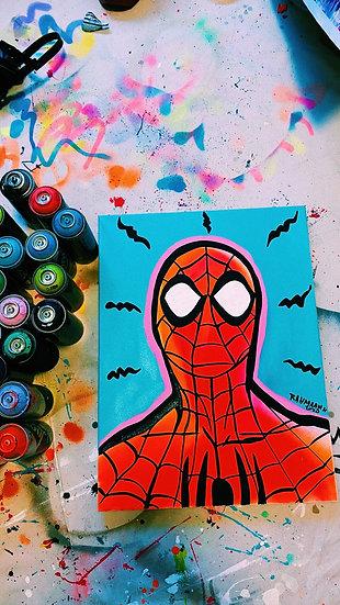 Neon Spider-Man
