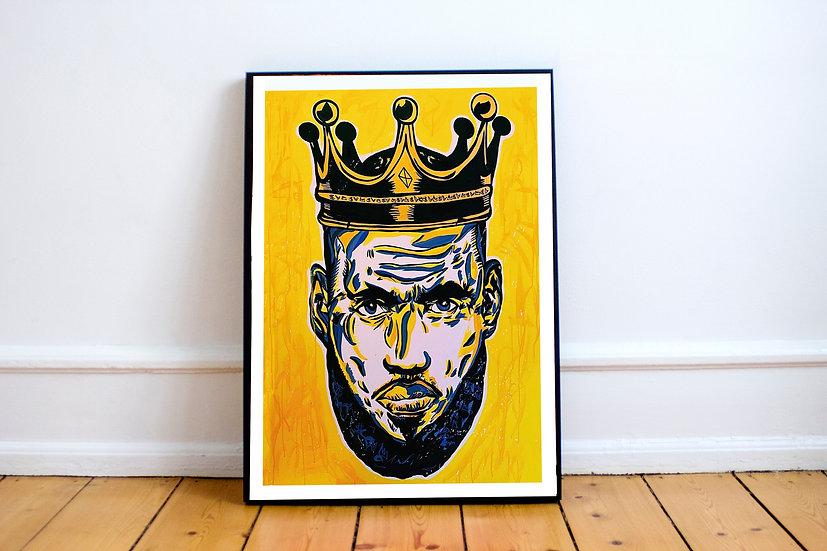 KING JAMES PRINT