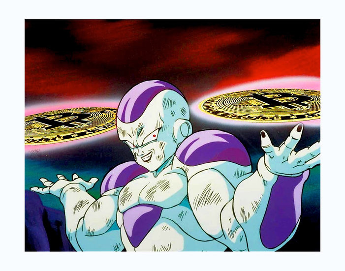 BITCOIN FRIEZA