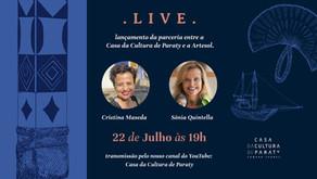 Live: lançamento da parceria entre a Casa da Cultura e a Artesol