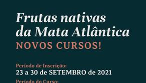 Minicurso: Frutas nativas da Mata Atlântica