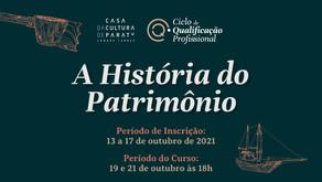 Minicurso: A História do Patrimônio