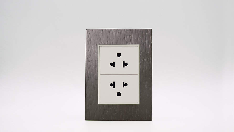 Placa Linea Bauhaus Madera Wenge