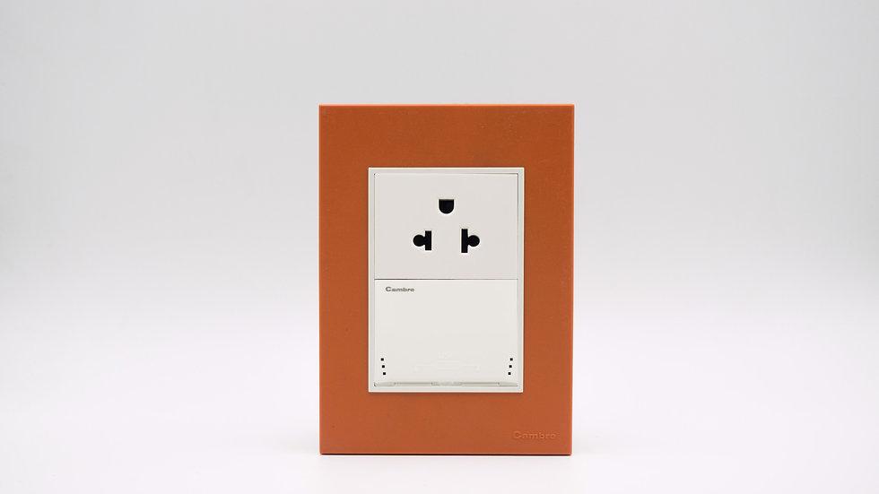 Placa Linea Bauhaus Naranja