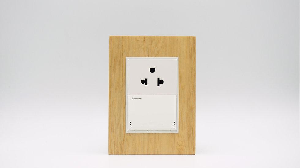 Placa Linea Bauhaus Madera Lenga Patagonia