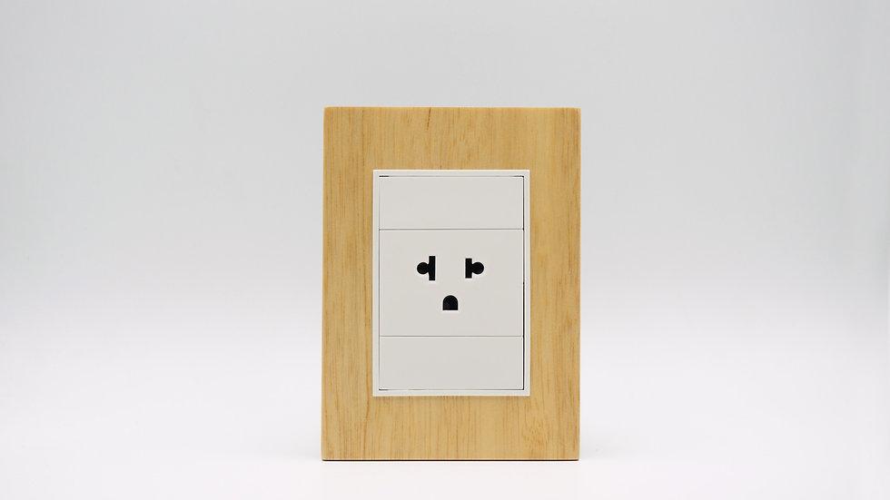 Placa Linea Bauhaus Madera Clara