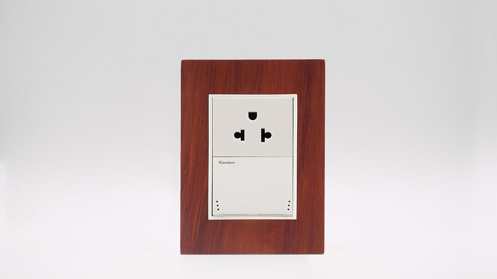 Placa Linea Bauhaus Madera Alerce Patagonia