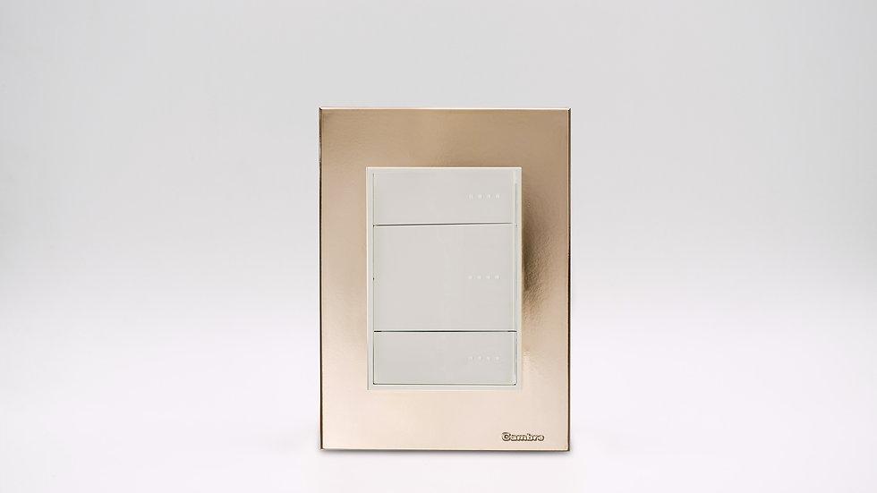 Placa Linea Bauhaus Oro