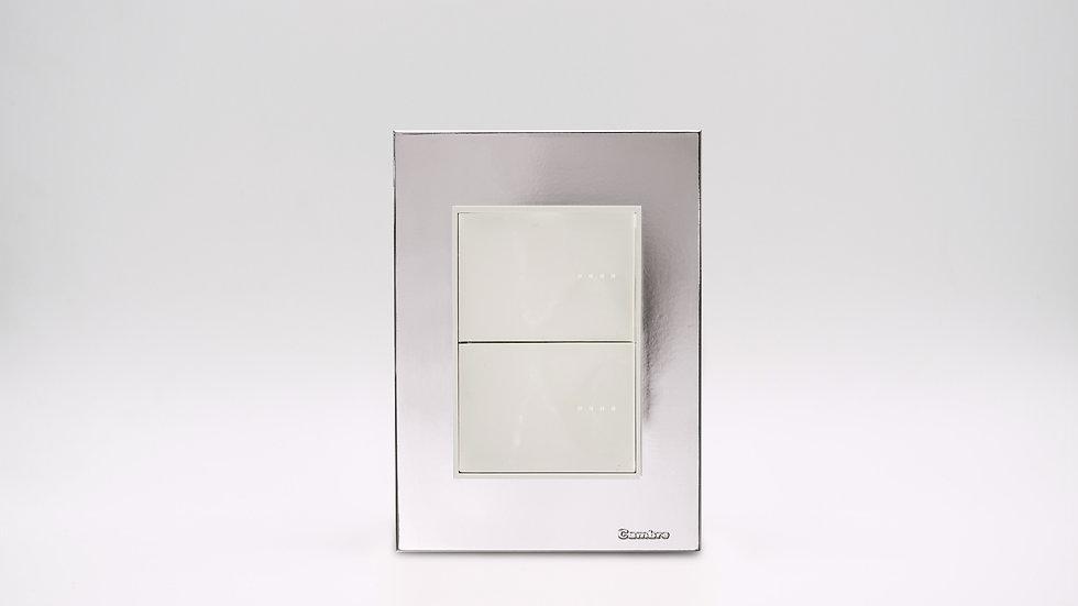 Placa Linea Bauhaus Plata