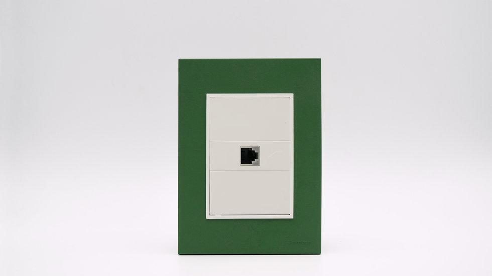 Placa Linea Bauhaus Verde