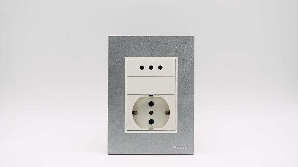 Placa Linea Bauhaus Aluminizada