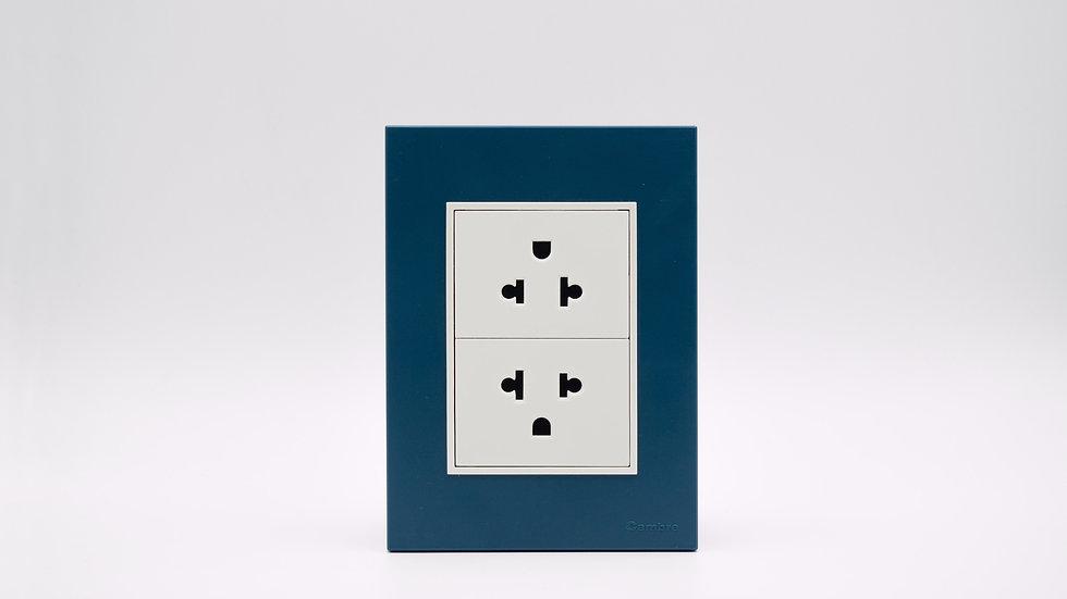 Placa Linea Bauhaus Azul