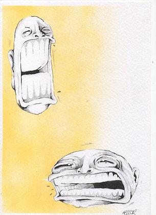 'hay fever' sketch